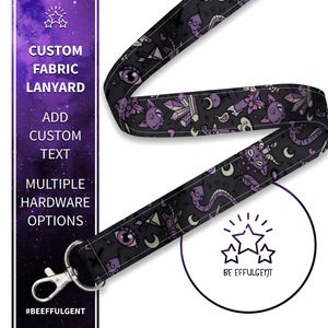 Cute Occult Custom Lanyard