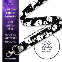 Load image into Gallery viewer, Ghost Custom Lanyard