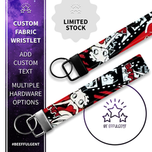 Load image into Gallery viewer, Betty Boop Custom Key Fob Wristlet