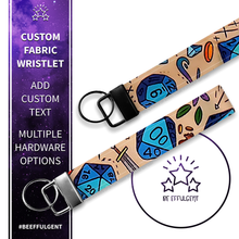 Load image into Gallery viewer, Dungeon Master Custom Key Fob Wristlet