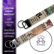 Load image into Gallery viewer, Firefly Browncoat Custom Key Fob Wristlet