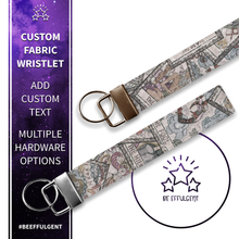 Load image into Gallery viewer, Tarot Cards Custom Key Fob Wristlet