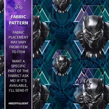 Load image into Gallery viewer, Black Panther Custom Lanyard