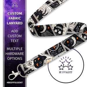 Black Magic Custom Lanyard