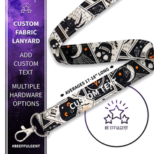 Load image into Gallery viewer, Black Magic Custom Lanyard