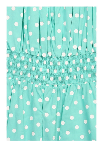 Kinny & Howie Latest Flame Vintage Style Polka Dot Pin up Rockabilly Skirt