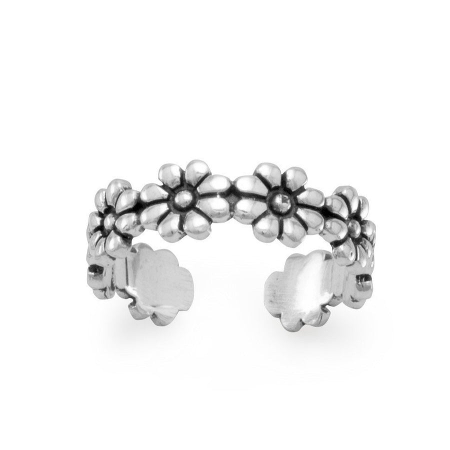 Flower Power Toe Ring