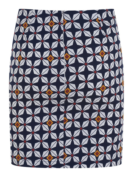 Bright & Beautiful Stacey 60's Mid-Century Modern Starburst Mini Skirt