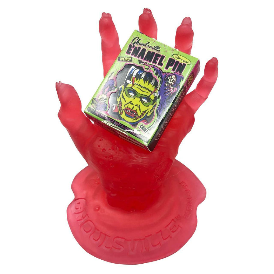 Blood Red Zombie Display Hand