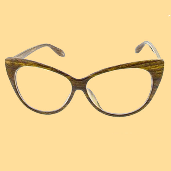 Kinny & Howie Clear Cat Eye Glasses Vintage Style Accessory