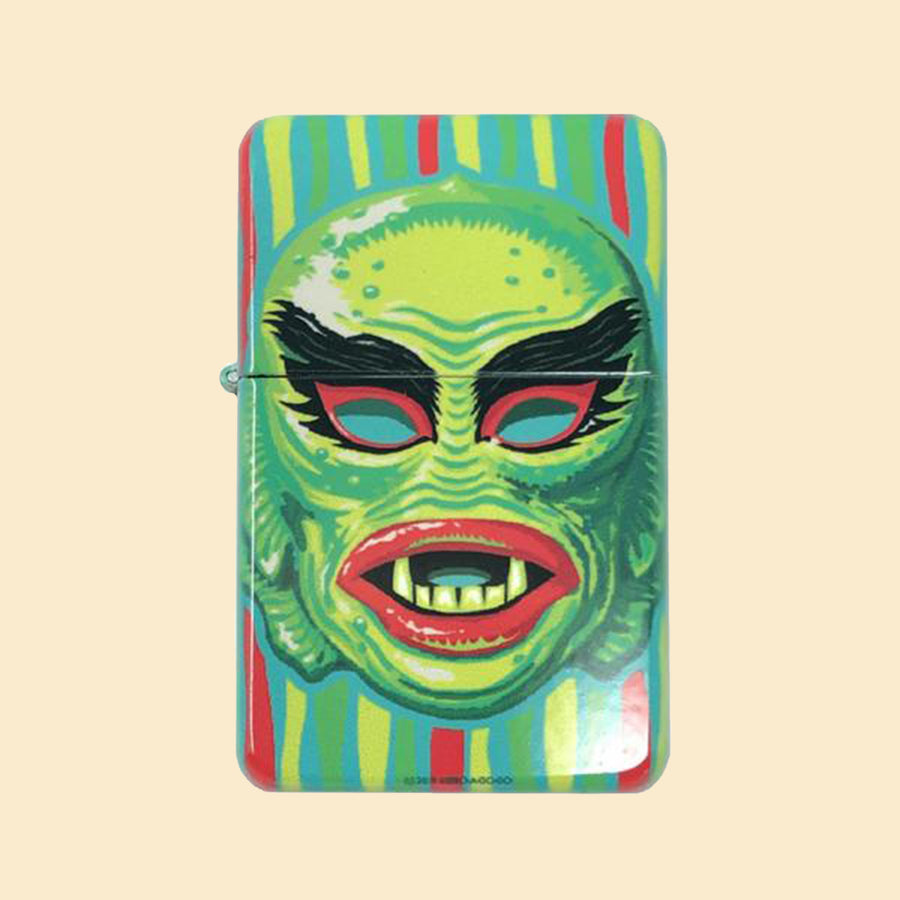 The Creature Windproof Lighter with Tin