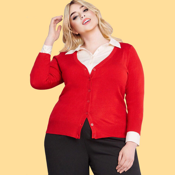 Prep in Your Step Plus Size Cardigan