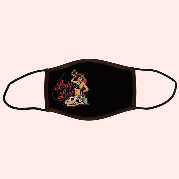 Lady Luck Adult Face Mask