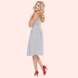 Out to Brunch Dress in Polka Dot