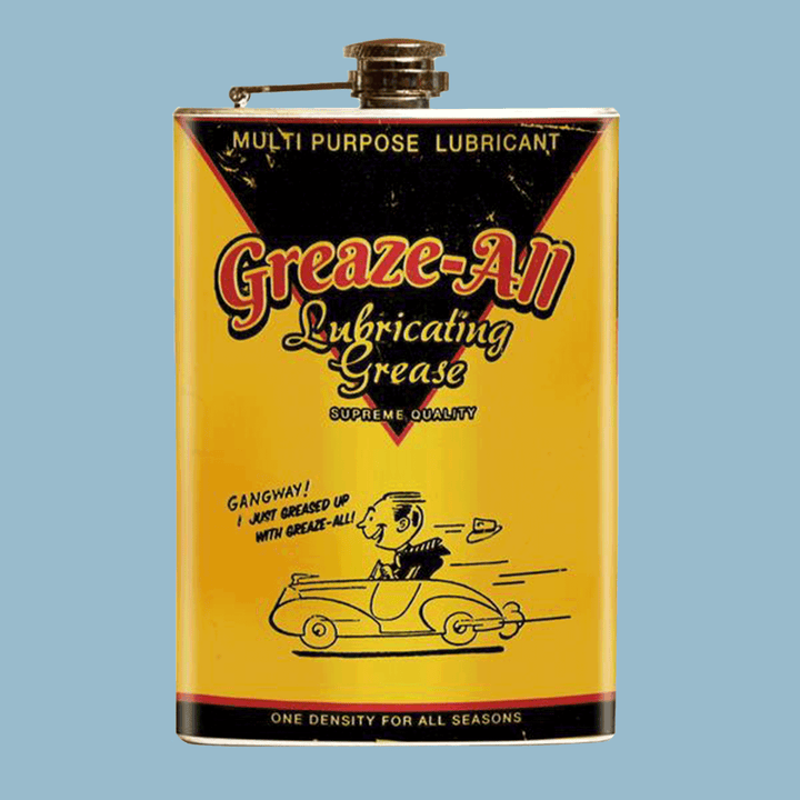 Lubricating Grease Flask