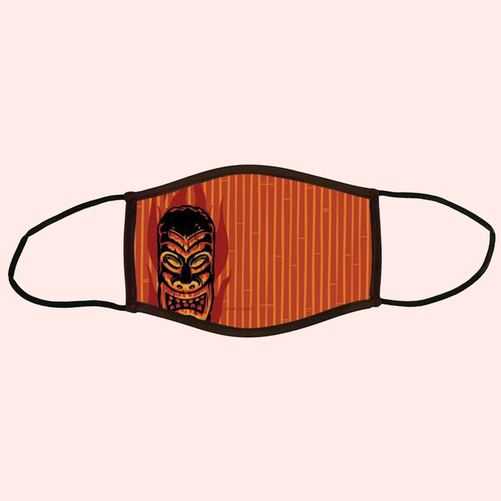 Night of the Tiki Adult Face Mask