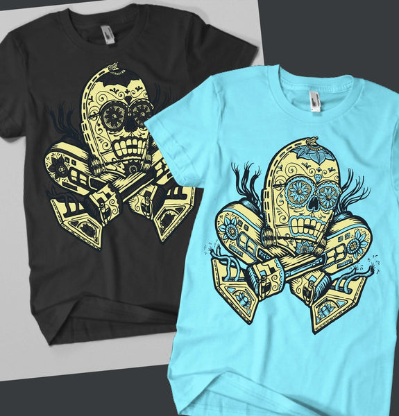 C-3PO Day of the Dead Shirt