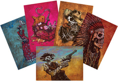 Greeting Cards (Western 5-Pack)
