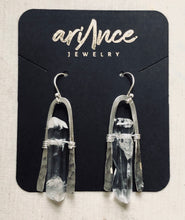 Load image into Gallery viewer, Cold World Quartz Earrings