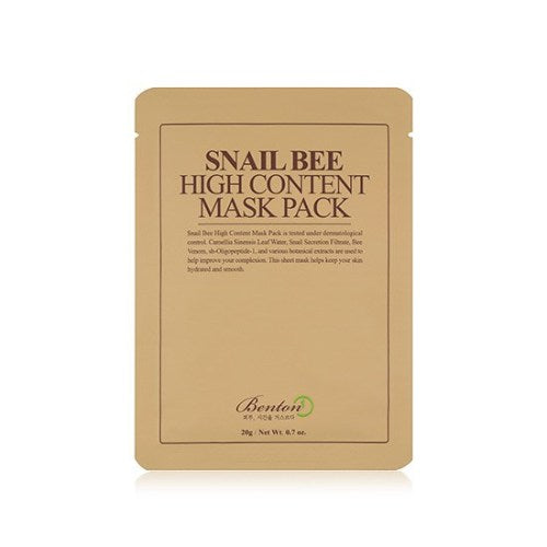 [Benton] Snail Bee High Content Mask (1 pc)