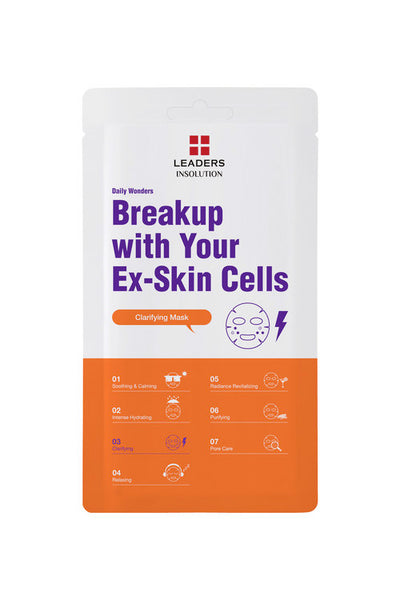 [LEADERS] Daily Wonders Breakup with Your Ex-Skin Cells Mask