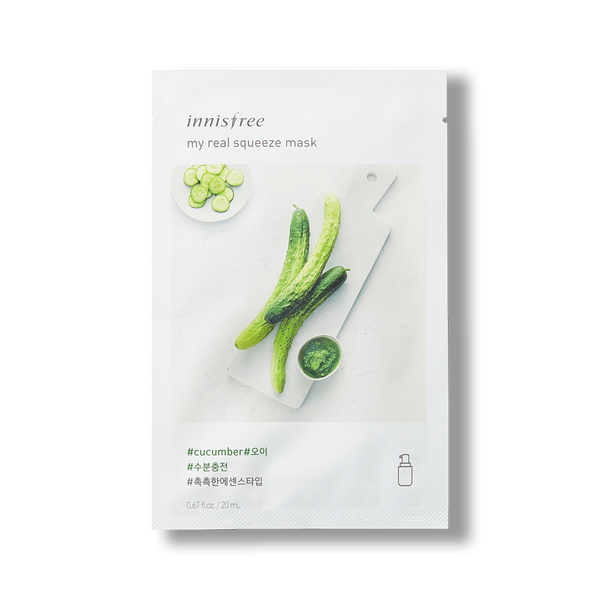 [Innisfree] My Real Squeeze Mask (Cucumber)
