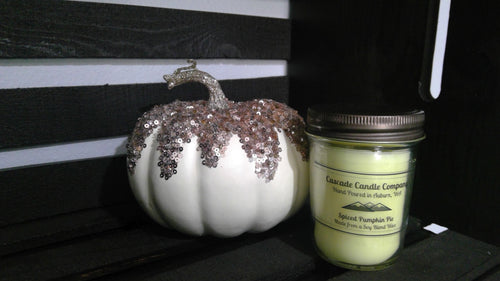 Closeout 7oz Soy Candle Spiced Pumpkin Pie