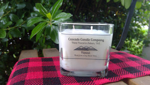 Closeout 11oz Soy Candle Flannel