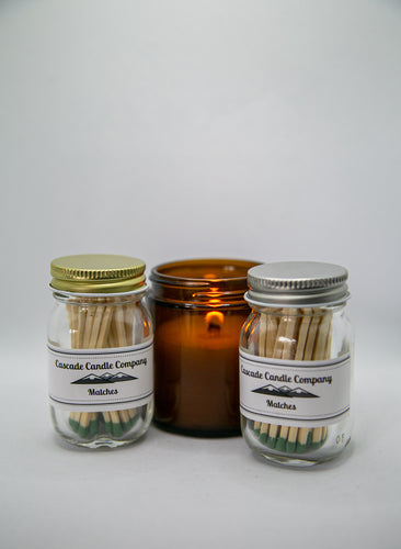 Candle Accessories ~ Match Jars
