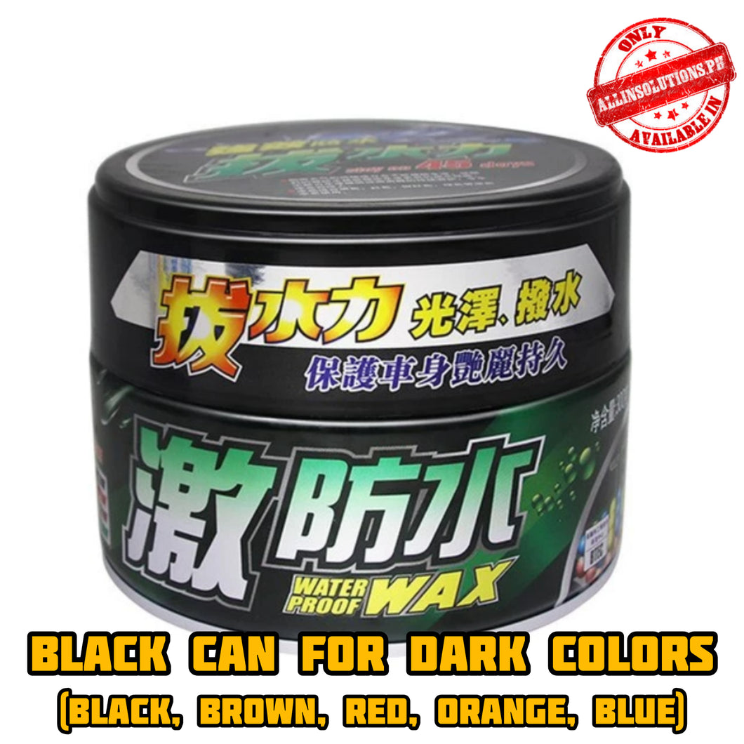 Incredible Coating Wax (Black Can for Dark Colors)