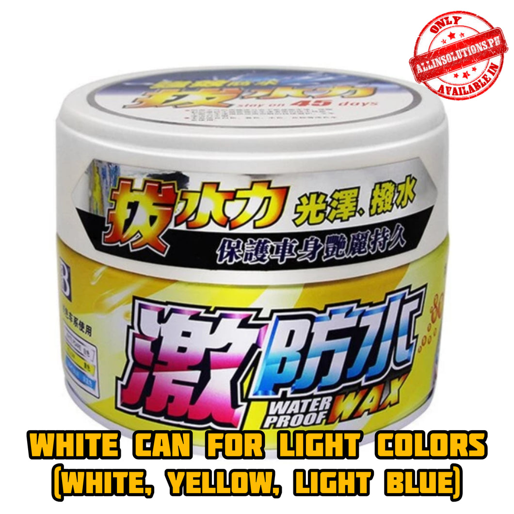 Incredible Coating Wax (White Can for Light Colors)