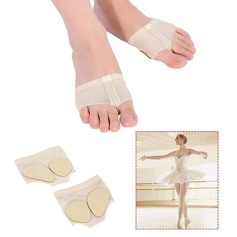 Chicandvip.com 1 Pair Ballet Belly Dance Shoes Half Sole Fitness Accessory