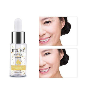 Chicandvip.com 24K Gold Anti-Aging Wrinkle Deep Repair Skin Face Serum