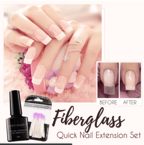Oradeal.com Fiberglass Quick Nail Extension Set