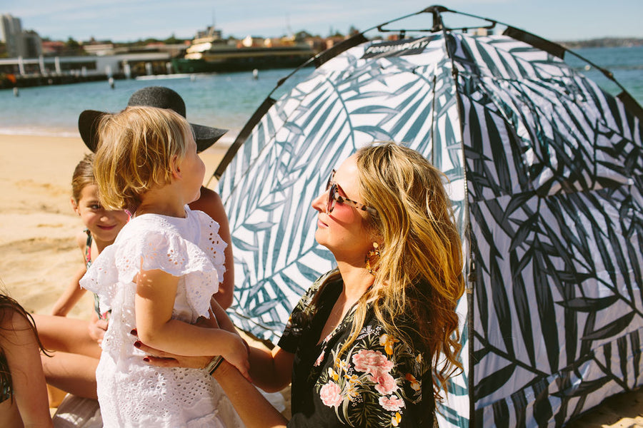 Sun protection in the bag – Sydney Mum has nailed it! FOR SUN PLAY is IN-TENTS about protecting Aussie Families