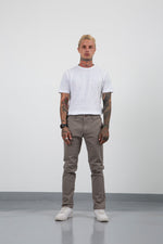 CHINO PANTS FIT 220 GREY FW