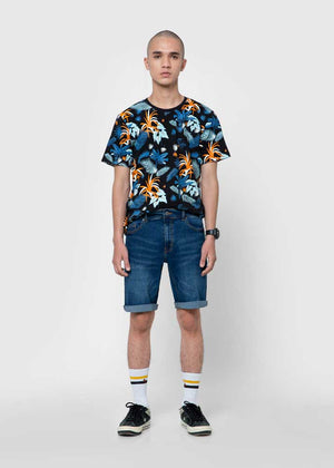 SHORT PANTS DENIM MED BLUE SS20