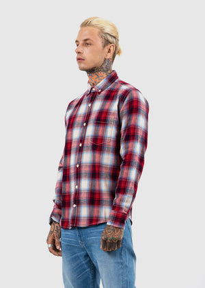 SHIRT S/S RED FW