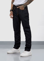 DENIM PANTS FIT 220 DARK BLUE FW