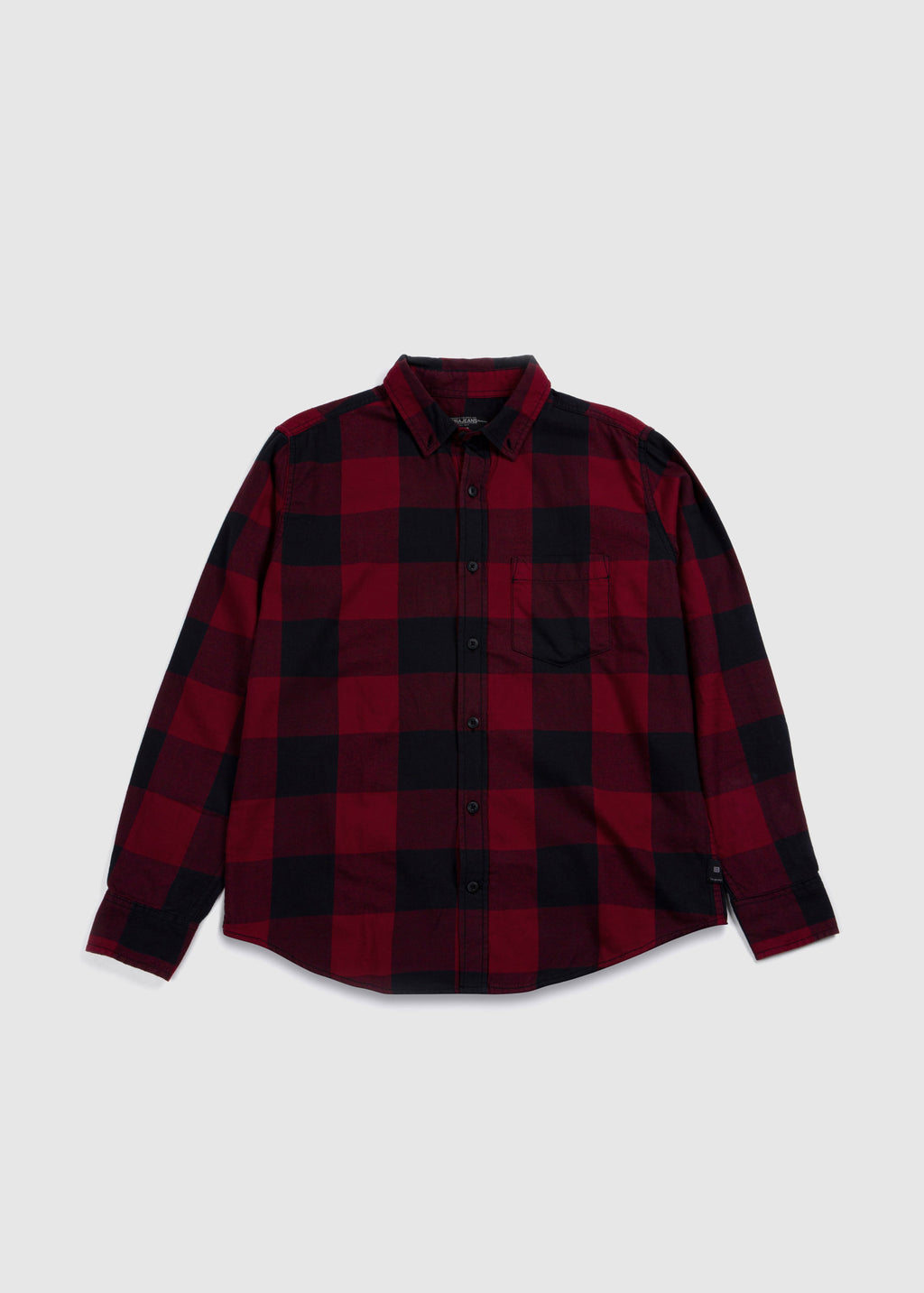 SHIRT L/S RED FW