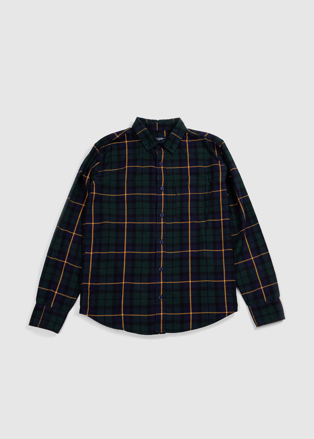 SHIRT L/S GREEN FW19