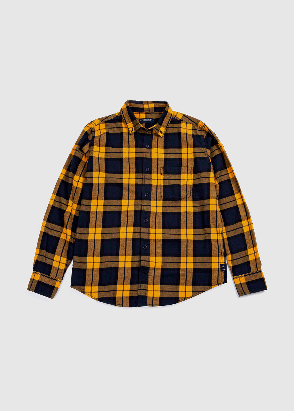 SHIRT L/S YELLOW FW