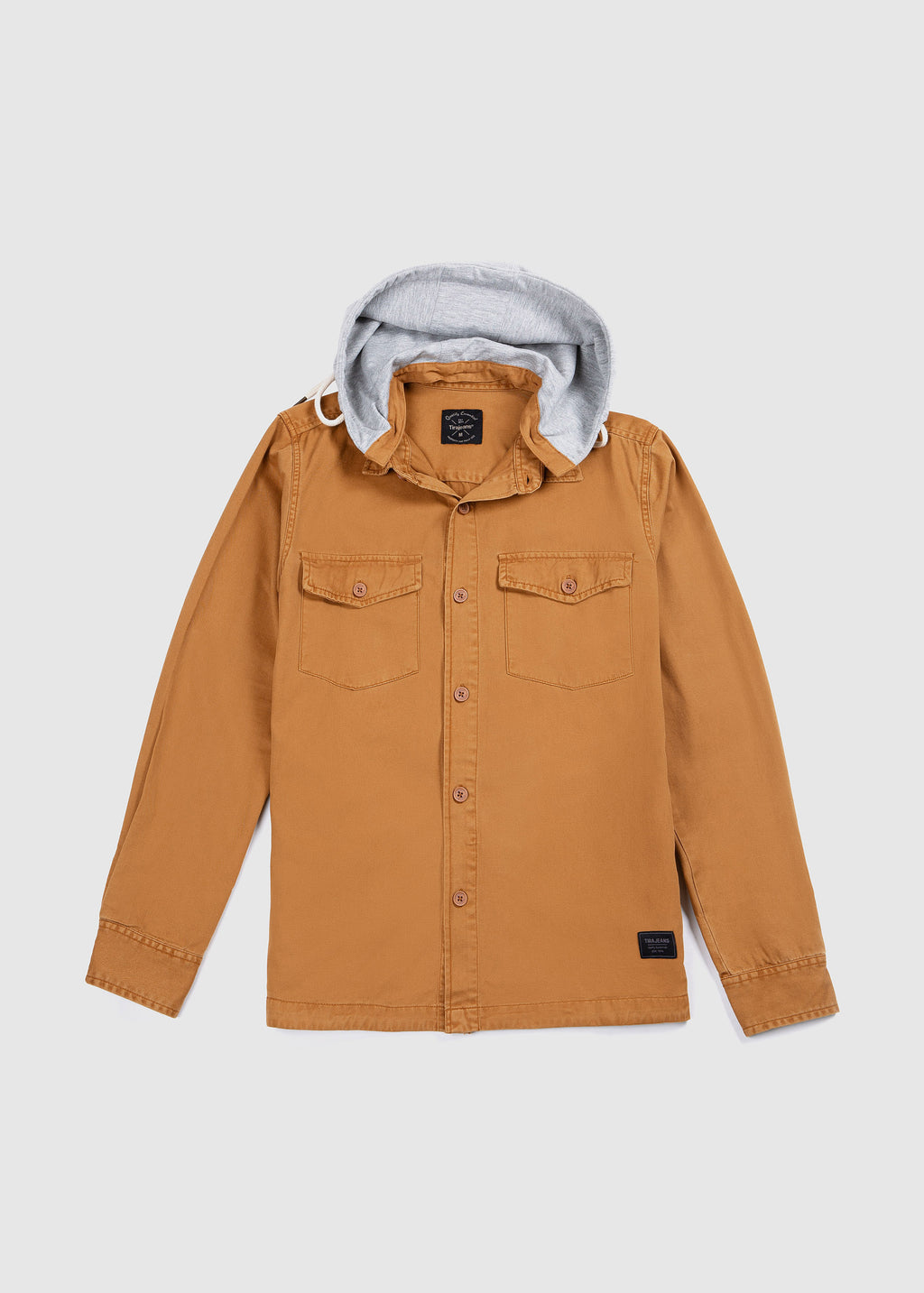 SHIRT JACKET BROWN FW19