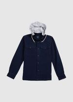 SHIRT JACKET NAVY FW