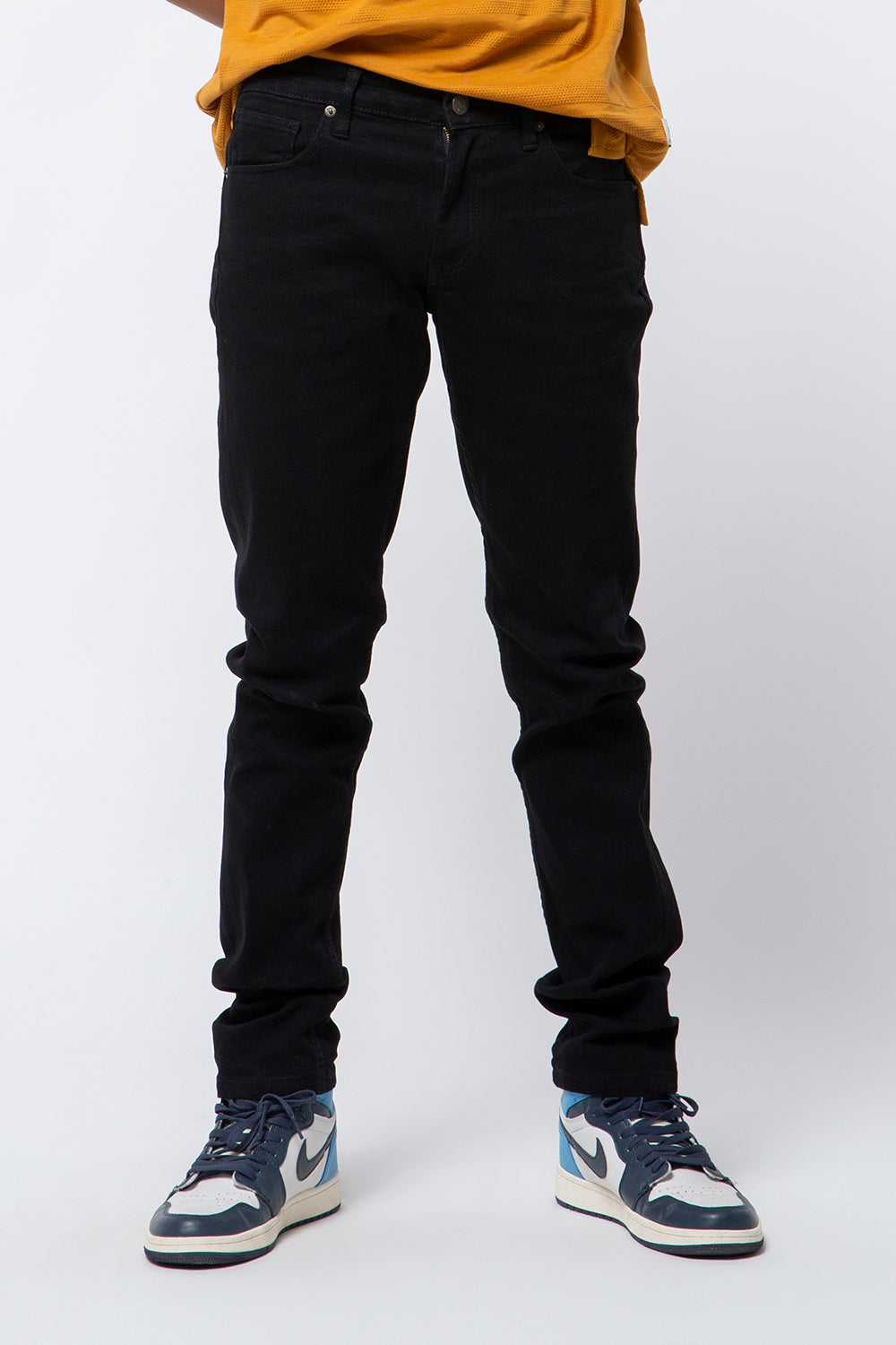 DENIM PANTS FIT 130 BLACK FW18