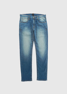 DENIM PANTS FIT 220 MED BLUE FW