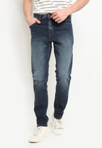 DENIM PANTS FIT 220 DARK BLUE 4 SS20