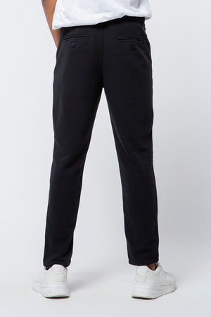 CHINO KNIT FIT BLACK