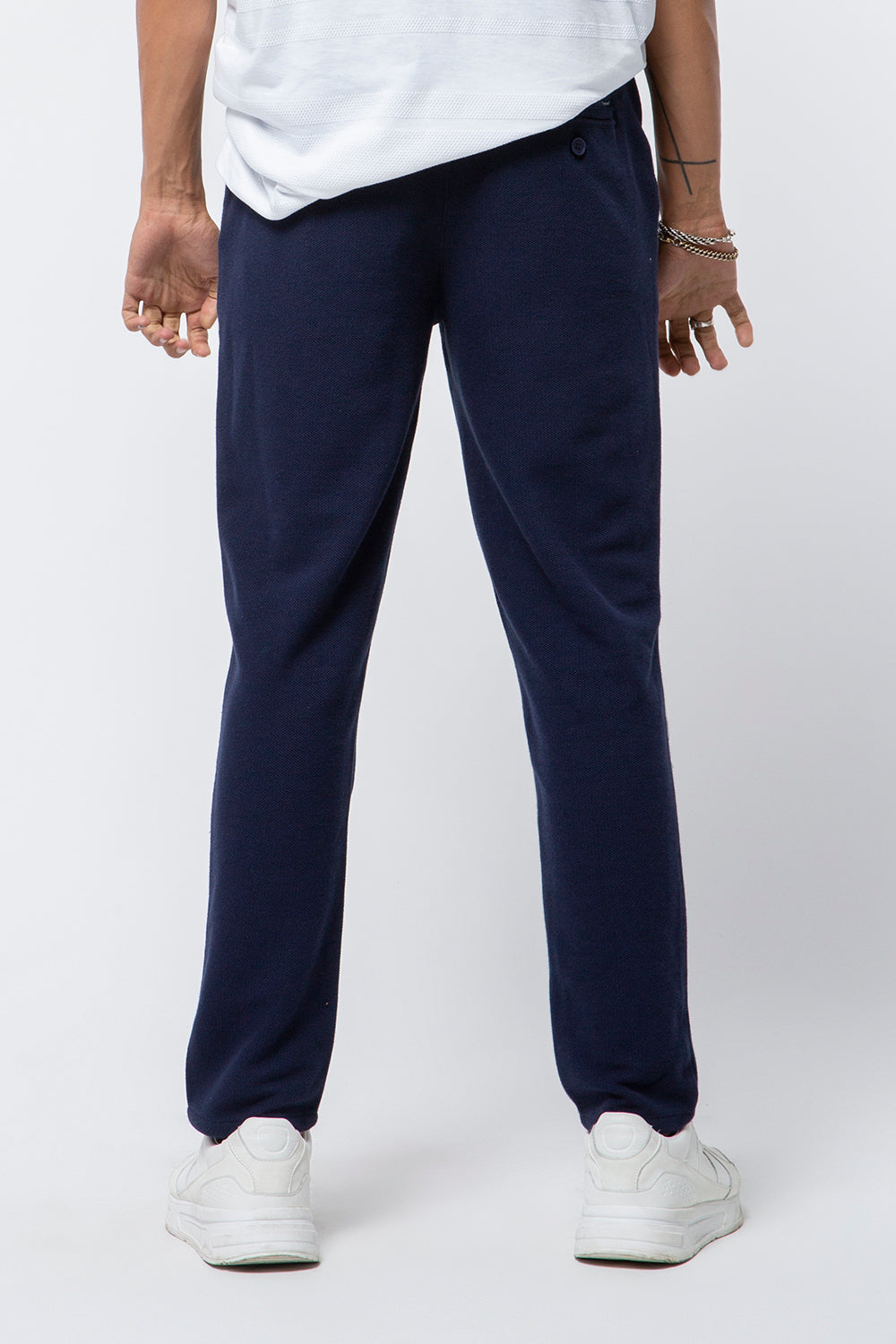 CHINO KNIT FIT NAVY