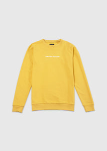 SWEATSHIRT YELLOW SS20